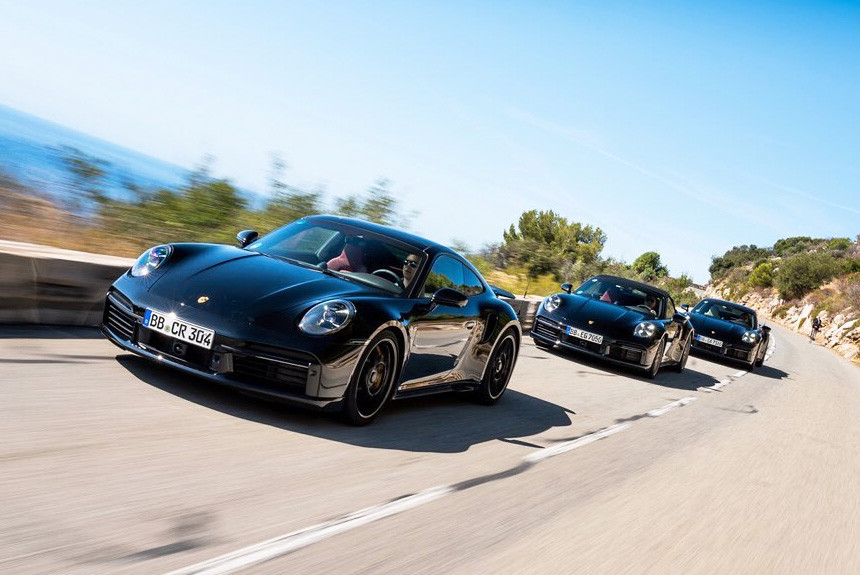 Новый Porsche 911 Turbo готовится к дебюту