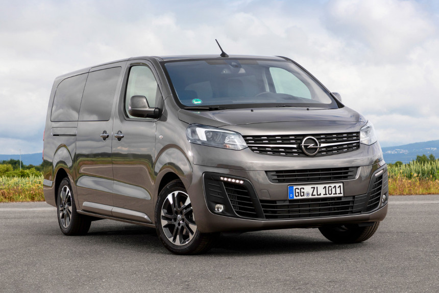 В России сертифицированы Opel Zafira Life и Vivaro